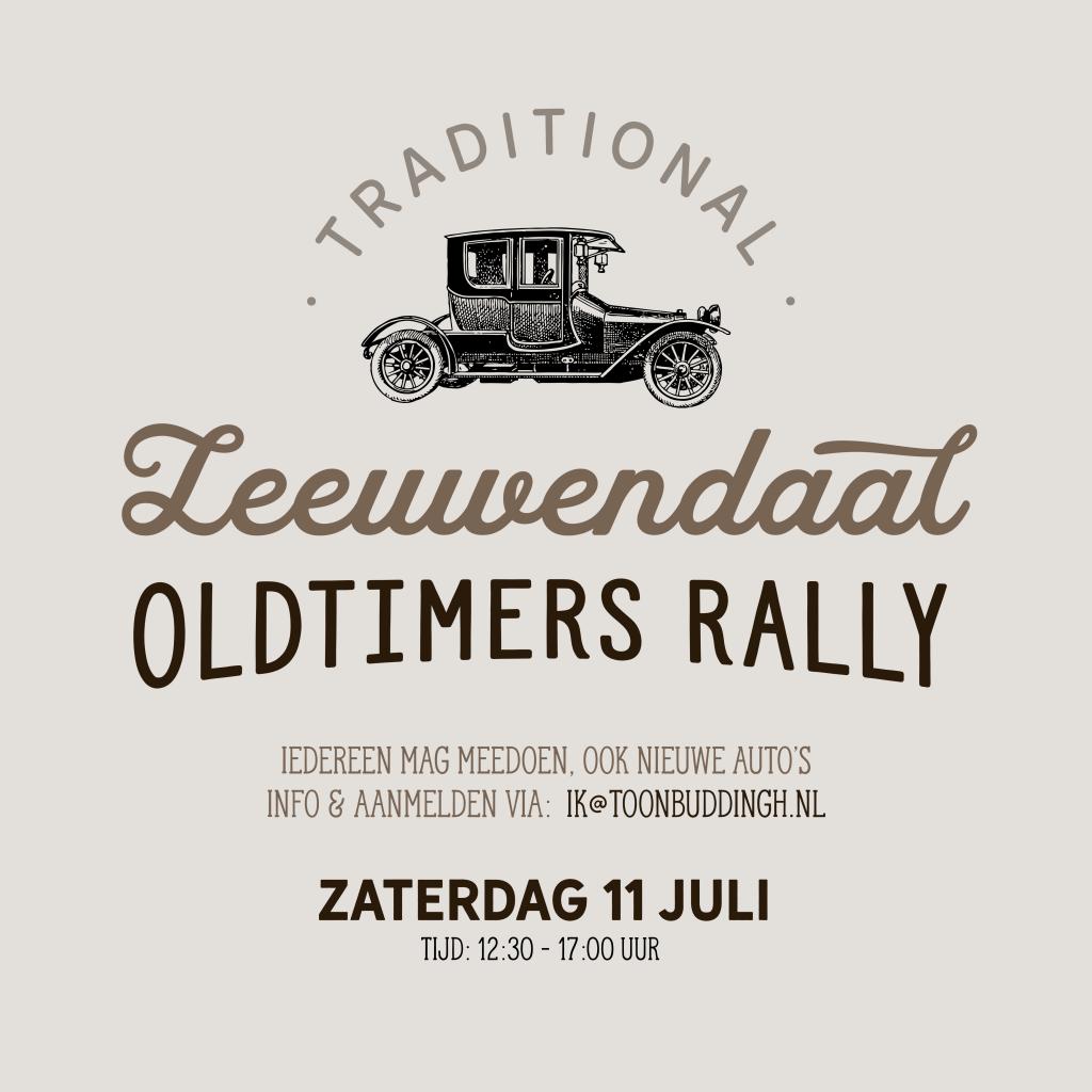 Leeuwendaal oldtimers rally 2020