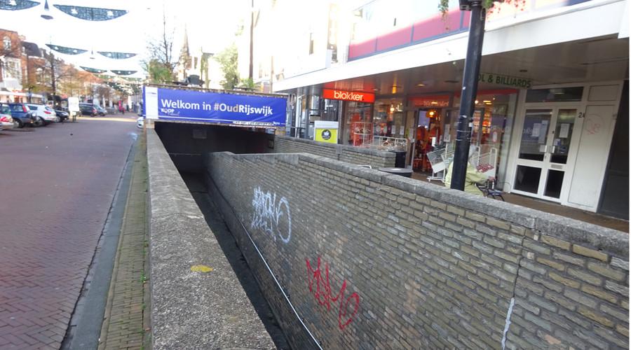 Voetgangers tunnel Rijswijk